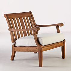 Valencia Occasional Chair with Cushion at Cost Plus World Market More