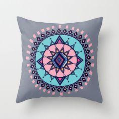Cloud Nine Creative - Aztec Flower Cushion