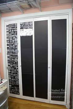 Magnets on the cupboard doors, what a great idea, I'm thinking about putting them on the inside of my craft cupboard doors