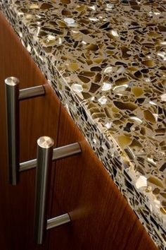 GlassSLAB Recycled Glass Countertop