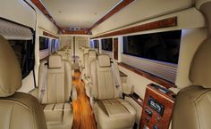 Brilliant's fleet of customized Mercedes Sprinter Vans and Luxury minibuses are beyond compare. We started the luxury group segment and our clients. Benz Sprinter, Mercedes Sprinter, Luxury Van, Luxury Life, 12 Passenger Van, Custom Mercedes, Big Van, Mini Bus, Viajes