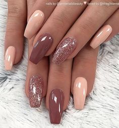 There are three kinds of fake nails which all come from the family of plastics. Acrylic nails are a liquid and powder mix. They are mixed in front of you and then they are brushed onto your nails and shaped. These nails are air dried. Cute Acrylic Nails, Acrylic Nail Designs, Cute Nails, Pretty Nails, My Nails, Pink Nails, Red Nail, Ombre Nail, Black Nail