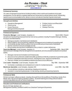 Warehouse Associate Resume Example - Warehouse Associate Resume ...
