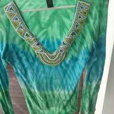 Very soft top with beading details Perfect soft material with well made beading neckline INC International Concepts Tops