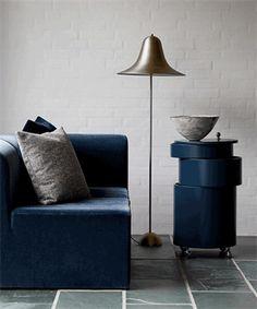 Lamper på tilbud hos AndLight - Se hele det store sortiment! Small Furniture, Modern Furniture, Perriand, Brass Floor Lamp, Single Sofa, Luminaire Design, Rustic Style, Decoration, Chair Design