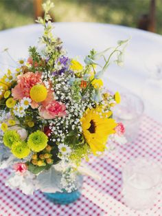 whimsical country wedding