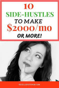 If you're in the hunt for side hustles , here we have collected 10 unknown side hustles that you can start today and make over $2000 a month working from home. Check This out Now!