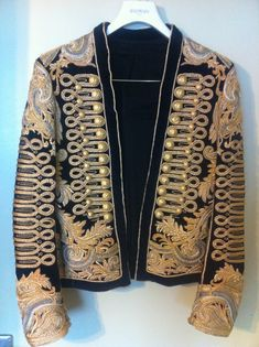 Men's fashion jackets certainly are a vital component to each and every man's set of clothing. Men need outdoor jackets for a number of functions and several varying weather conditions. Men's Jacket Value. Mens Leather Coats, Leather Jacket, Velvet Jacket Men, Warrior Fashion, Dandy Style, Mens Fashion Suits, Men's Fashion, Blazers, Embroidered Jacket