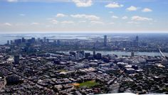 Views of Boston from the Hood blimp.. Courtesy of Boston Calendar Facebook page!!