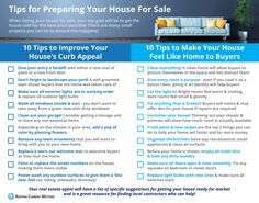 When preparing for a home sale in Dallas, use these 20 tips to assist you! When ready to sell, contact me for help.  www.SueKrider.com
