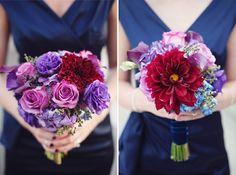 Jewel tones - love. Not nec. the arrangement.