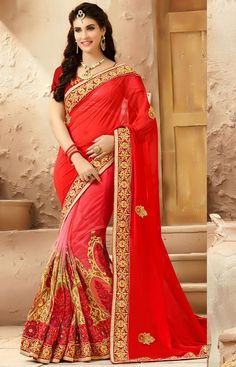 Designer Indian Bollywood New Saree Wedding Party wear Pakistani Lehenga Sari Indian Designer Sarees, Latest Designer Sarees, Indian Sarees, Sari Blouse, Saree Blouse Designs, Lehenga Sari, Net Saree, Pakistani Lehenga, Lehenga Style