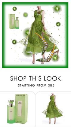 """""""Eye Catcher"""" by for-the-art-of-fashion ❤ liked on Polyvore featuring Bulgari, WithChic and Aquazzura"""