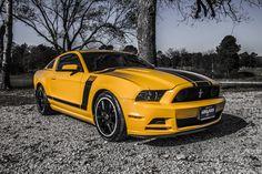 Beautiful 2013 Ford Mustang Boss 302. #Mustang #PonyCar