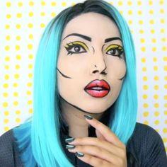 45 Mind-Boggling Halloween Makeup Transformations | slice.ca