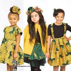 All Things Ankara: Lookbook/Kids: Shells Belles Kidz Fall/Winter 2014 Pony Collection