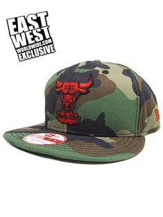 EASTWEST x New Era Exclusive Chicago Bulls Camo Snapback Hat 524ffb5b8b0