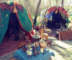 camping boho style    i wanna live like this for a summer!