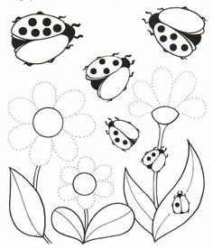 Weather Activities For Kids, Spring Activities, Color Activities, Art Worksheets, Kindergarten Worksheets, Flower Coloring Pages, Colouring Pages, Preschool Writing, Preschool Activities