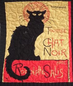 """Chat Noir"" by Ellen W. Johnson"