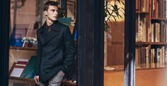 The Peacoat Edit   Shop now at The Idle Man   #StyleMadeEasy