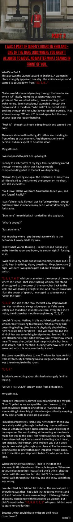 Part 2 to this creepy story...