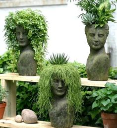 love these plantings! Stoneface Creations how fun. love these plantings! Stoneface Creations how fun.love these plantings! Stoneface Creations how fun.