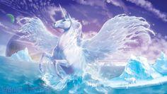 Polar Spirit Pegasus Fantasy Myth Mythical Mystical Legend Wings Enchantment