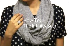 Pink Peonies: Infinity Scarf Winner To. This is sewing, not knit/crochet. Fabric Crafts, Sewing Crafts, Sewing Ideas, Sewing Projects, Sewing Diy, Crafty Projects, Sewing Tutorials, Sewing Patterns, Diy Crafts