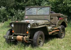 Eight American-Made Cars That Built The U.S.A. | Team Valvoline Willys MB (1941)