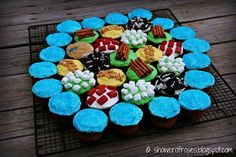 Cupcakes of Catan for Rich's birthday?