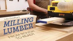 Reap the satisfying rewards of milling your own wood! Confidently navigate your local lumberyard and gain valuable skills for beautiful results on your next project.