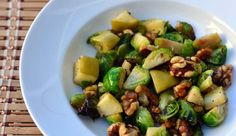 Blog post at Growing Up Gabel : Roasted brussel sprouts are the perfect accompaniment to any meal.  Brussel sprouts, apples, and walnuts are tossed with oil and maple syru[..]