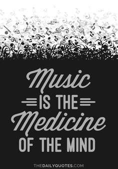 Music Is Medicine http://thedailyquotes.com/music-is-medicine/?utm_content=bufferf8520&utm_medium=social&utm_source=pinterest.com&utm_campaign=buffer