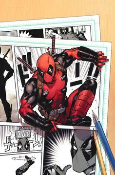 Deadpool #1 Variant (15')