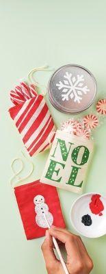 Martha Stewart Crafts #Christmas Treat Bags #holiday #gift