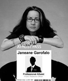 Janeane Garofalo, atheist