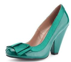 green patent shoes: Charlotte Russe