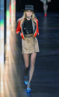 Saint Laurent - PFW Spring/Summer 2015 - www.so-sophisticated.com