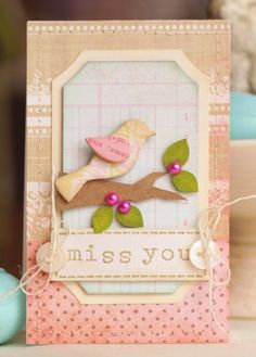 what a sweet card :) from Cards mag