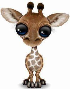'Cute Baby Giraffe Wearing Pussy Hat' Sticker by jeff bartels Funny Giraffe, Giraffe Art, Cute Giraffe, Giraffe Pictures, Animal Pictures, Cute Pictures, Cute Tiger Cubs, Cute Tigers, Cute Baby Animals