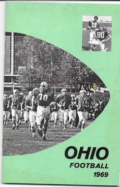 1969 Ohio University Bobcats Football Press Media Guide
