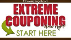 Extreme Couponing Done Right... 7 secrets of doing it.