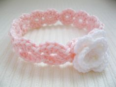 Crochet Headband Baby Teen Adult Pink with by WhiteElmBoutique, $10.00
