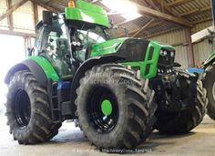 Deutz-Fahr Agrotron 7250 Heavy Equipment, Landscape Wallpaper, Crane, Automobile, Monster Trucks, Cool Stuff, Vehicles, Ken Block, Farming