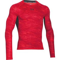 The Under Armour HeatGear Armour Printed Mens Long Sleeve Compression Base  Layer Shirt is a graphic 08f5eac12c5