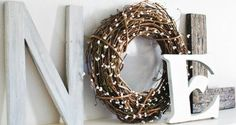 Noel, Noel... DIY Holiday Mantle Art | Homesessive.com