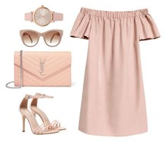 """""""Untitled #84"""" by solongosoko on Polyvore featuring Yves Saint Laurent and Vivani"""