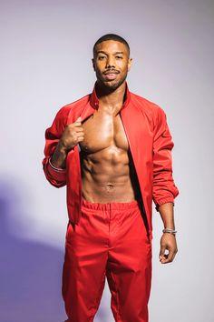 Michael B. Jordan for Fine Black Men, Hot Black Guys, Gorgeous Black Men, Cute Black Boys, Handsome Black Men, Fine Men, Beautiful Men, Michael B. Jordan, Michael Rowe