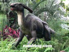 Petualangan Dinosaurus di Taman Legenda di TMII